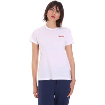 Odjeća Žene  Majice kratkih rukava Diadora 102175882 Bijela