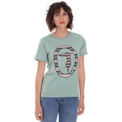Odjeća Žene  Majice kratkih rukava Trussardi 56T00371-1T005228 Zelena