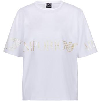 Odjeća Žene  Majice kratkih rukava Ea7 Emporio Armani 3KTT18 TJ29Z Bijela