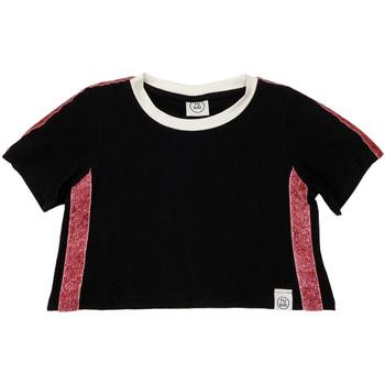 Odjeća Djeca Majice kratkih rukava Naturino 6000719 01 Crno