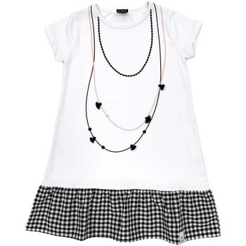 Odjeća Djevojčica Kratke haljine Naturino 6000724 01 Bijela