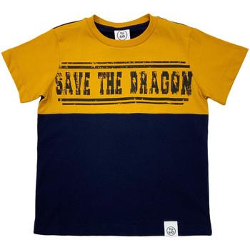 Odjeća Djeca Majice kratkih rukava Naturino 6001018 01 Plava