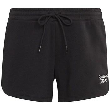 Odjeća Žene  Bermude i kratke hlače Reebok Sport French Terry Short Crna