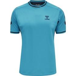 Odjeća Majice kratkih rukava Hummel Maillot  Poly hmlACTION bleu/bleu marine