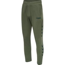 Odjeća Muškarci  Donji dio trenirke Hummel Jogging  hmlLegacy Tapered vert/noir