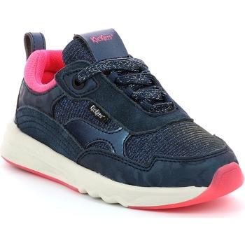 Obuća Djevojčica Niske tenisice Kickers Chaussures enfant  Kiwy CDT marine/rose/glitter