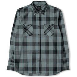 Odjeća Muškarci  Košulje dugih rukava Edwin Chemise  Labour gris/noir