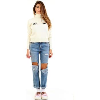 Odjeća Žene  Puloveri Chiara Ferragni 90165772 Bianco