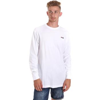 Odjeća Muškarci  Majice dugih rukava Fila 687606 Bijela