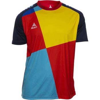 Odjeća Dječak  Majice kratkih rukava Select T-shirt enfant  Player Pop Art bleu/jaune/rouge
