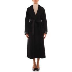 Odjeća Žene  Kaputi Maxmara Studio UDITO BLACK