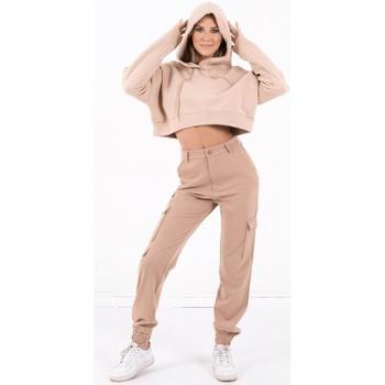 Odjeća Žene  Sportske majice Sixth June Sweatshirt Crop Top femme  Acid Printed beige