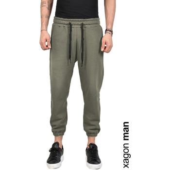 Odjeća Muškarci  Hlače Xagon Man  Zelena