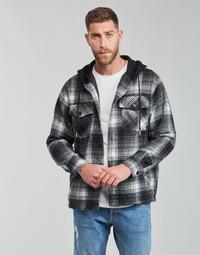 Odjeća Muškarci  Kratke jakne Yurban  Crna / Siva