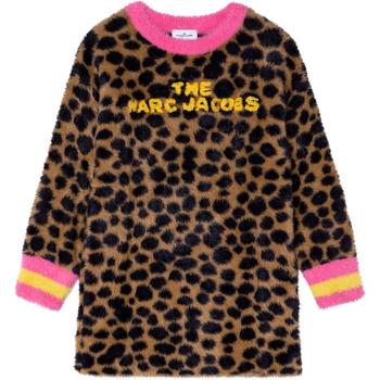Odjeća Djevojčica Kaputi Marc Jacobs W12388 Marrone