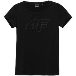 Odjeća Žene  Majice kratkih rukava 4F TSD353 Crna