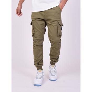 Odjeća Muškarci  Cargo hlače Project X Paris Jeans Style Cargo Projet X Paris khaki