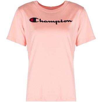 Odjeća Žene  Majice kratkih rukava Champion  Ružičasta