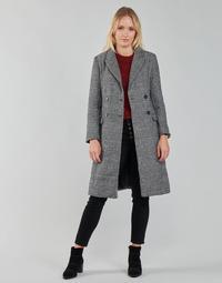 Odjeća Žene  Kaputi Betty London PIXIE Crna / Siva