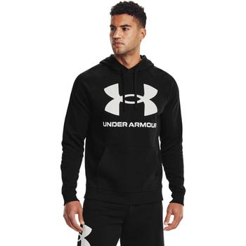 Odjeća Muškarci  Sportske majice Under Armour Rival Fleece Big Logo Crno