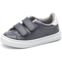 Obuća Djevojčica Niske tenisice Cienta Chaussures fille  Deportivo Scractch Piel bleu marine