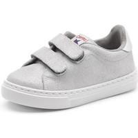 Obuća Djevojčica Niske tenisice Cienta Chaussures fille  Deportivo Scractch Glitter gris clair