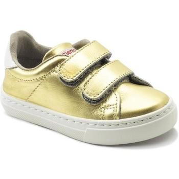 Obuća Djevojčica Niske tenisice Cienta Chaussures fille  Deportivo Scractch Laminado doré