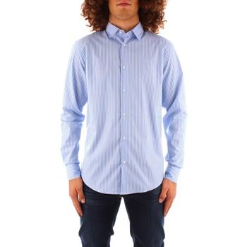 Odjeća Muškarci  Košulje dugih rukava Trussardi 52C00216 1T004966 BLUE