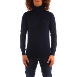Odjeća Muškarci  Puloveri Trussardi 52M00516 0F000542 NAVY BLUE