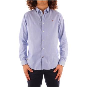 Odjeća Muškarci  Košulje dugih rukava Napapijri NP0A4FMMS071 WHITE