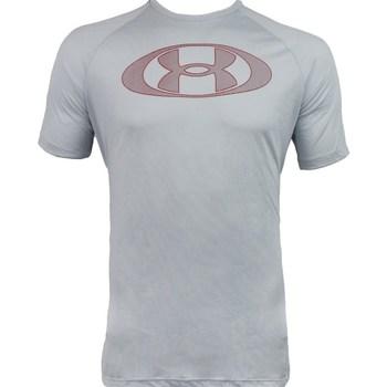 Odjeća Muškarci  Majice kratkih rukava Under Armour Tech 20 Lockertag Siva