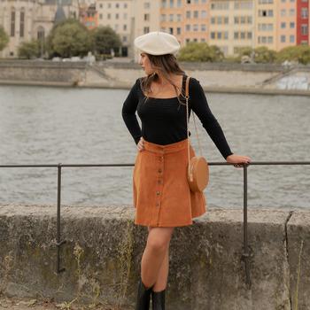 Odjeća Žene  Suknje Céleste NANDINA Boja hrđe