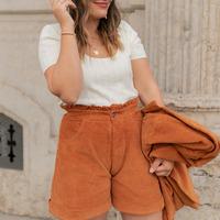 Odjeća Žene  Bermude i kratke hlače Céleste CHENE Boja hrđe