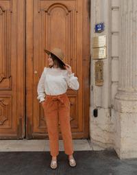 Odjeća Žene  Hlače s pet džepova Céleste MARRONNIER Camel