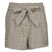 Odjeća Žene  Bermude i kratke hlače Betty London PRICSOU Crna / Krem boja