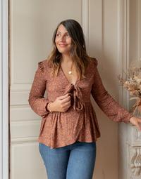Odjeća Žene  Topovi i bluze Céleste ROSSIGNOL Multicolour