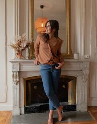 Odjeća Žene  Topovi i bluze Céleste ZEPHYR Camel