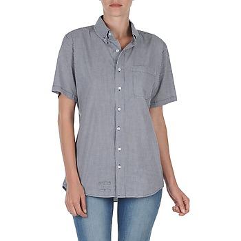 Odjeća Žene  Košulje kratkih rukava American Apparel RSACP401S Bijela / Blue