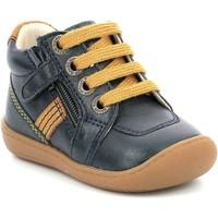 Obuća Djevojčica Polučizme Aster Chaussures fille  Piasap bleu marine/orange clair