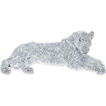 Dom Dekorativni predmeti  Signes Grimalt Leopardov lik Plateado