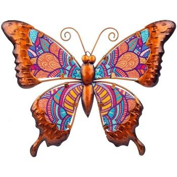 Dom Dekorativni predmeti  Signes Grimalt Slika leptira Naranja