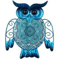 Dom Dekorativni predmeti  Signes Grimalt Slika sove Azul