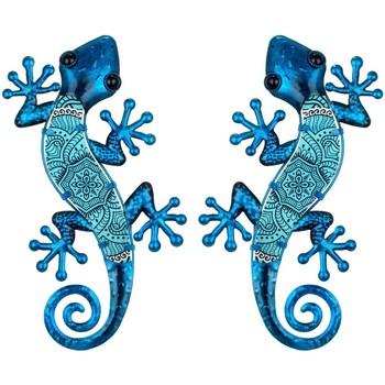 Dom Dekorativni predmeti  Signes Grimalt Slika Gušteri 2 jedinice Azul