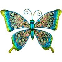 Dom Dekorativni predmeti  Signes Grimalt Slika leptira Verde