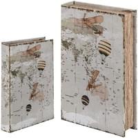 Dom Sanduci i kovčezi Signes Grimalt Kutija za knjige SET 2 U Blanco