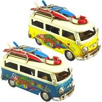 Dom Dekorativni predmeti  Signes Grimalt Autobus SET 2 U Multicolor