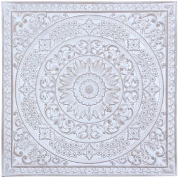 Dom Slike i platna Signes Grimalt Zidni ukras Blanco