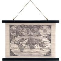 Dom Slike i platna Signes Grimalt Roll-up platnena karta Negro