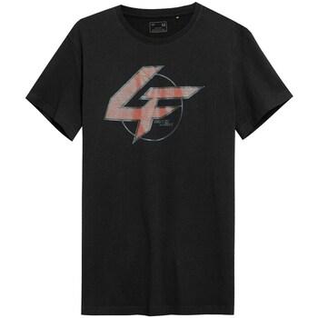 Odjeća Muškarci  Majice kratkih rukava 4F TSM022 Crna