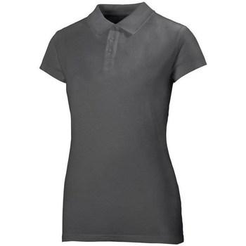 Odjeća Žene  Polo majice kratkih rukava Helly Hansen Crew Polo Siva
